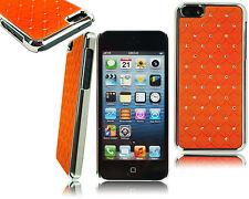 Nuevo Cromo Diamante Brillante Funda Rígida para teléfono móvil Apple iPod Touch