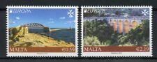 Malta 2018 MNH Bridges Europa Bridge 2v Set Tourism Architecture Stamps