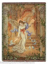 "THROWS - HEAVENLY ANGEL TAPESTRY THROW - 50"" X 60"" THROW"