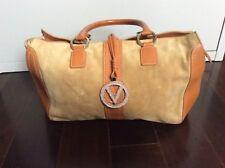 Valentino Garavani suede leather bag