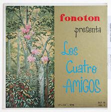 LOS CUATRO AMIGOS pasillo vallenato bambuco porro colombia fonoton DLP 16 LP