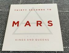 30 Thirty Seconds to Mars Kings and Queens CD Single VGC