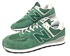New Balance Classics 574 Forest Green/White/Grey/Black Men's Size 11 (ML574EGR)
