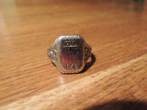 Offizieller Ring Norge 1940 Norwegen Silber ORIGINAL Juwel Brødrene Lohne Bergen