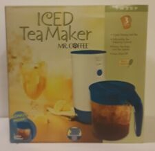 Mr Coffee ICED TEA MAKER 3 QT TM30P NEW Sealed in manufacturer packaging
