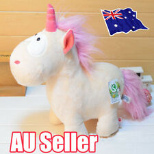 "8"" Unicorn Plush Fluffy Toy Lovely Stuffed Theodore Animal Doll Kids Gift BO"