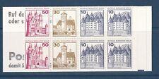 GERMANY/BERLIN 1977 GERMAN CASTLES BOOKLET SG BSB10 CAT £15.00.