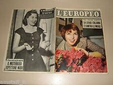 EUROPEO=1956/16=DELIA SCALA=FRANCESCO MASELLI=RENATO CASTELLANI=DINO TERRA=
