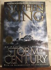 STORM OF THE CENTURY. AN ORIGINAL SCREENPLAY - FIRST EDITION STEPHEN KING Pocket