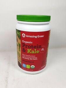 Amazing Grass Vegan Protein & Kale Powder Mixed Berry 1.12 lbs