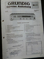 ORIGINALI service manual AMPLIFICATORE Grundig V 30