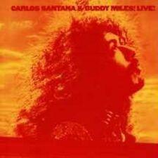 "CARLOS SANTANA & BUDDY MILES ""LIVE"" CD NEUWARE"