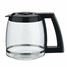 Cuisinart DCC-2200RC 14-Cup Replacement Glass Carafe, Black, New, Free Shipping