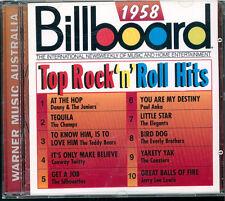Billboard 1958 Top Rock 'n' roll hits CD Australie