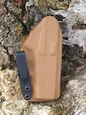 Kydex IWB holster for Kahr PM9 - Coyote Brown - InvisiHolsters