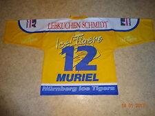 Ice Tigers Nürnberg Metzen Athletic Trikot 1998/99 + Nr.12 Muriel Gr.XL- XXL