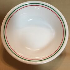 """4 Corelle Holiday Pattern Cereal Bowls, 6""""x2"""". Nice"""
