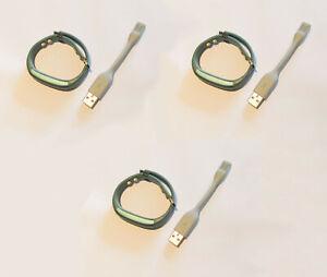 NEW job lot 3x Jawbone UP3 Activity Monitoring Bracelet with cable READ DESC