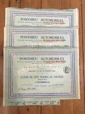20 x PONTHIEU AUTOMOBILES 1908 for 1€ ?