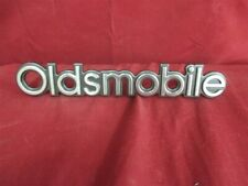 """Oldsmobile Emblem Silver And Red 1/"""" Wide"""
