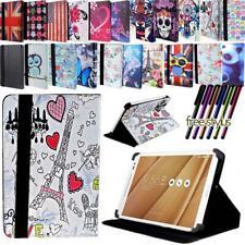 Para Varios Asus MEMO Pad 7 8 10 Pulgadas Tablet-Cuero Soporte Folio Estuche Cubierta