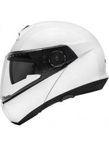 Schuberth C4 Basic White Helmet - Fast & Free Shipping