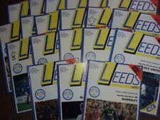 Away Teams L-N Division 2 Home Teams L-N Football Programmes