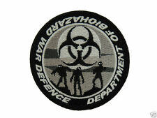 ill Gear eXtInCt Department of Biohazard War Defense Patch old school