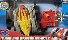 RC Radio Control Tumbling Dragon Vehicle. Yellow, New In Box.