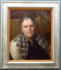 WENDELA BOREEL (1895-1985) French PORTRAIT fine ORIGINAL signed OIL PAINTING