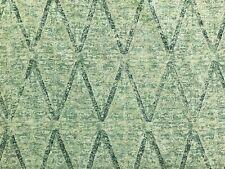 Kerry Joyce Textiles Daya Diamond Azure Navy Ethnic Linen Uph Drapery Fabric