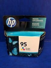 C8766WN 95 Genuine HP 7ML Tri-color Ink DeskJet 460 5740 5940 Photosmart C4140 !