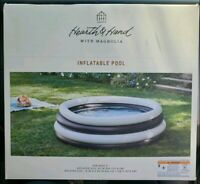 Hearth and Hand with Magnolia Inflatable Swimming Pool Black & White Target -NEW