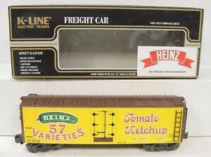 K-Line K642-5203 Heinz Reefer Car LN/Box