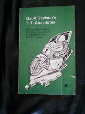 Geoff Davisons T.T. Anecdotes, Geoff Davison, Molly Davison, 1966