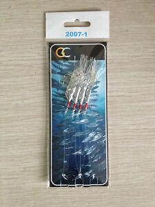 4HOOKS 2007-1 Sea Reflect Mackerel Feather hockeye sea lure Sea hokki rigs