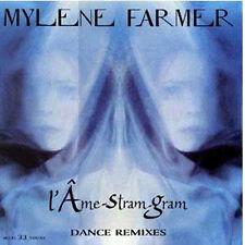 """12"""" MAXI 45T VINYL Mylène FARMERL'Ame-Stram-Gram 4 remixes 12""""   NEUF NEW"""