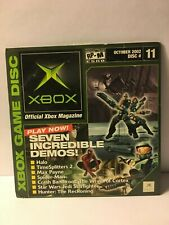 Official Xbox Demo Disc October 2002 Disc 11 Disc + Sleeve