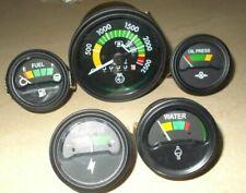 Mf Massey Ferguson 265 285 Tractor Tachometer Gauges Kit Temp Oil Fuel Amp