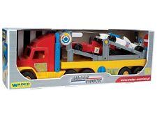 Wader 77 cm Super camión con F1 coche de carreras