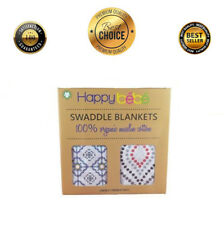 New Bamboo Muslin Collection Swaddle Blankets 2-Pack 47x47 Baby Blankets