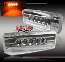 UNIVERSAL YELLOW LED SIGNAL SIDE MARKER LIGHTS LAMPS FOR CLS500 ML350 S420 S450