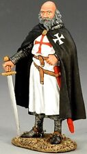 KING & COUNTRY MEDIEVAL KNIGHTS & SARACENS MK072 TEMPLAR GRAND MASTER MIB