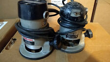 Two Porter Cable Heavy Duty Routers 6902 and 100X