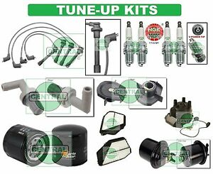TUNE UP KITS for 94-97 ACCORD (EX): SPARK PLUGS, WIRE SET, FILTERS, CAP & ROTOR