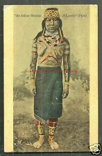 Loreto Indian Woman full body colour Tattoo Peru ca 1906