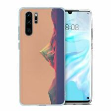 For Huawei p30 pro silicone cover mountains-s1831