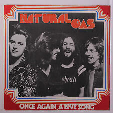 NATURAL GAS: Once Again (a Love Song) / You Can Do It 45 (Spain, PS-only no 45