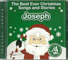 JOSEPH - THE BEST EVER CHRISTMAS SONGS & STORIES PERSONALISED CD