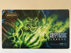 World of Warcraft WOW TCG Hearthstone - Worgen Cryptozoic League Playmat